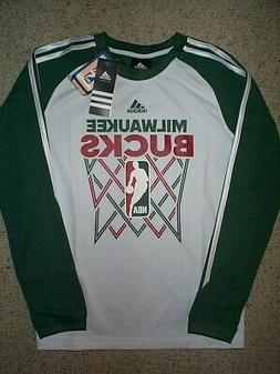 ADIDAS Milwaukee Bucks nba Jersey Shirt YOUTH KIDS BOYS
