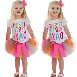2pcs kids baby girls clothing t shirt