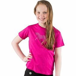 Horze Abbie Kids T-shirt - Cactus Flower All Sizes