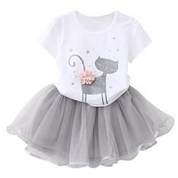 Avidqueen Adorable Toddler Baby Girls Clothes Set Long Sleev