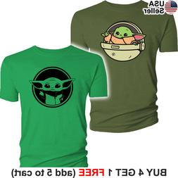 baby yoda t shirt the mandalorian