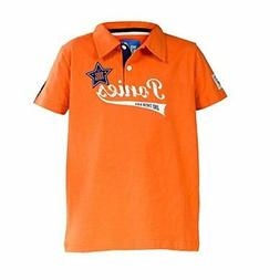 Horze Banji Jr Kids Jersey Polo Shirt with Logo Printing and