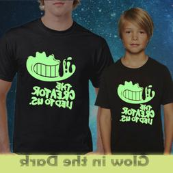 BENDY T-shirt / the creator lie to us / Glow in the dark T-s