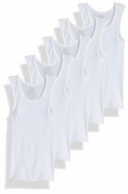 Fruit of the Loom Boys 5-Pack White A-Shirt