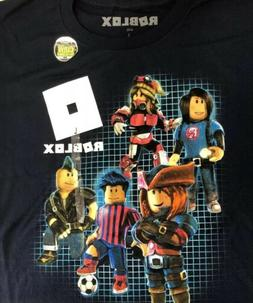 BOYS ROBLOX CHARACTERS T-SHIRT GLOW IN THE DARK VIDEO GAME K