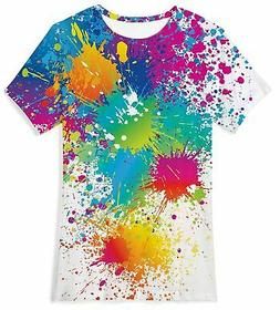BFUSTYLE Boys Girls 3D Print Cool T-Shirt Teen Kid Short Sle
