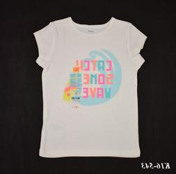 Carter's New With Tags Girls Graphic Tee Shirt Top Size 5 ki