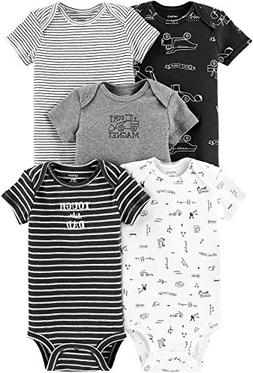 Carters Baby Boys 5-pk. Construction Bodysuits 12 Months Gre