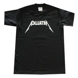 Children Boy Kids T-Shirt METALLICA Logo  Graphic Shirt Blac