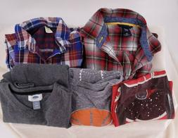 Childrens BOYS TOPS size 10/12 lot  Shirts Tee GAP Old Navy