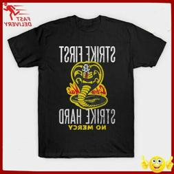 Cobra Kai - Karate kid T-Shirt 100% Cotton Regualr Size S-3X