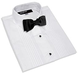 Boys Formal Tuxedo Shirt with Bow Tie #G112