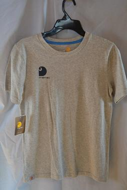 "Carhartt Gray T-Shirt ""Choose Your Tackle"" CA8770 Boys/Youth"