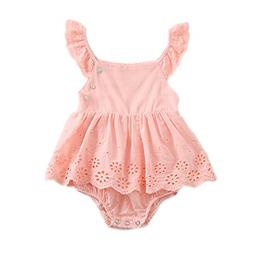 Colorful Childhood Infant Baby Romper Girls Tutu Lace Dress