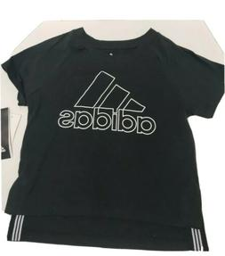 ADIDAS KIDS ATHLETIC GRAPHIC T SHIRT - GIRL VARIATION NEW