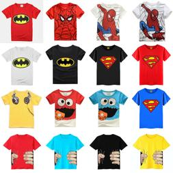 kids toddler summer batman t shirt boys