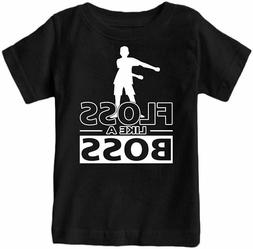 Kids Floss Like a Boss Flossin Dance Youth T-Shirt