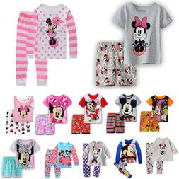 kids girls boys disney minnie mouse pajama