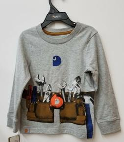 Carhartt Kids Long Sleeve Tool T-Shirt NEW