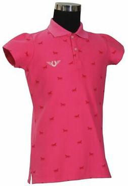 Tuffrider Kids Madelyn Short Sleeve Polo Shirt