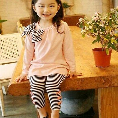 Tops Striped Pants Clothes
