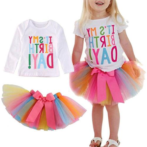 2Pcs Baby Girls Set Outfits