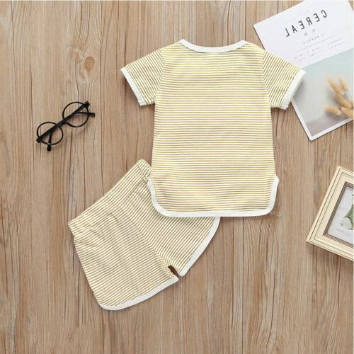 2Pcs Boy Pants Set US