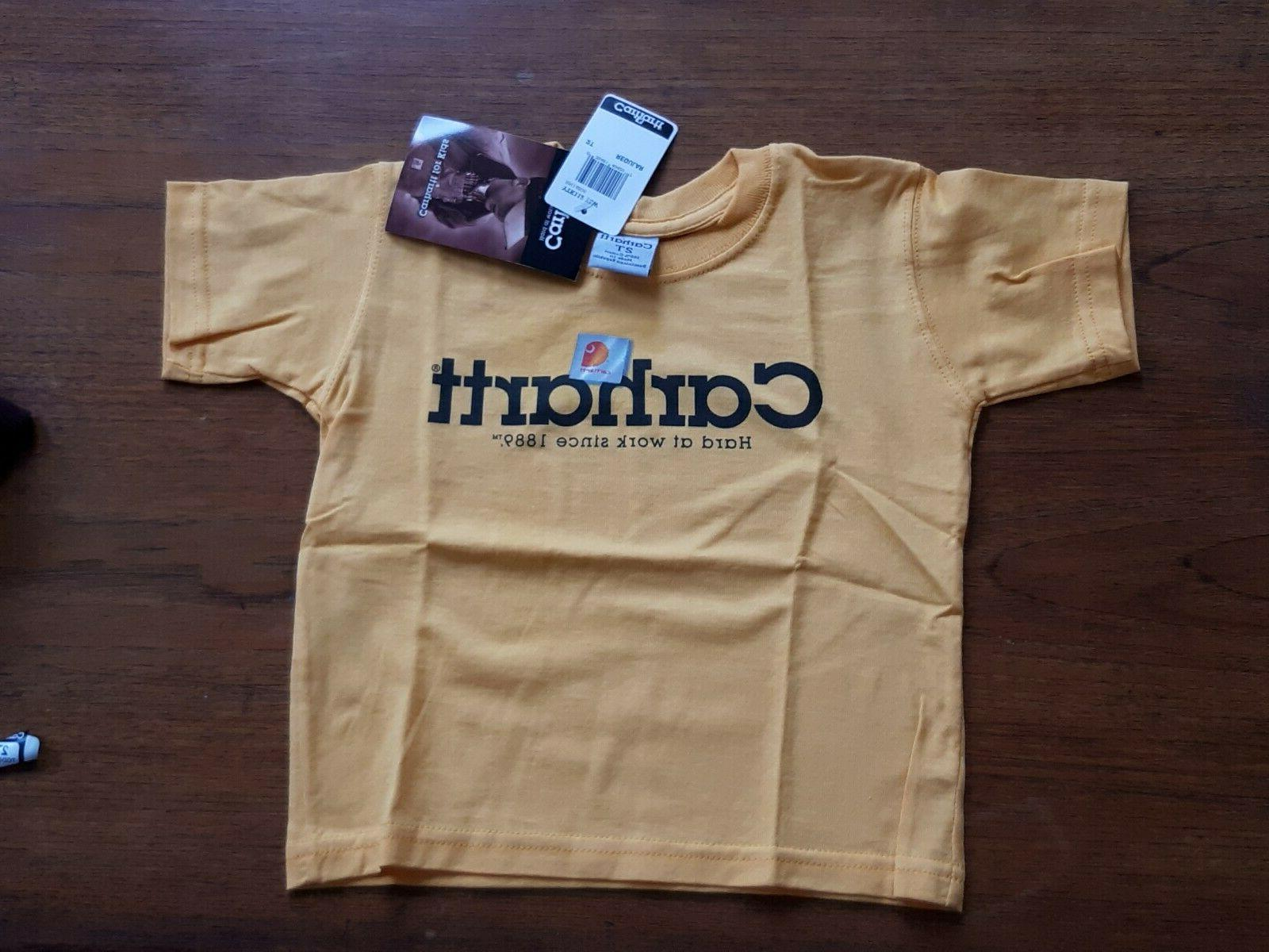 authentic kids t shirt yellow 4t 5t