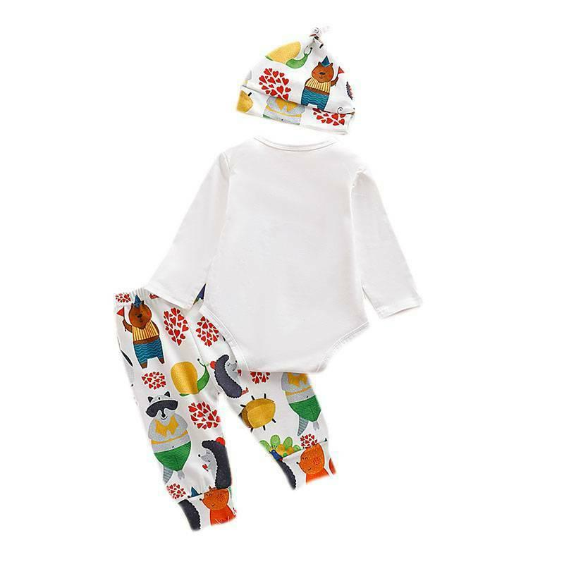 Baby Animal Hat Outfits 3Pcs