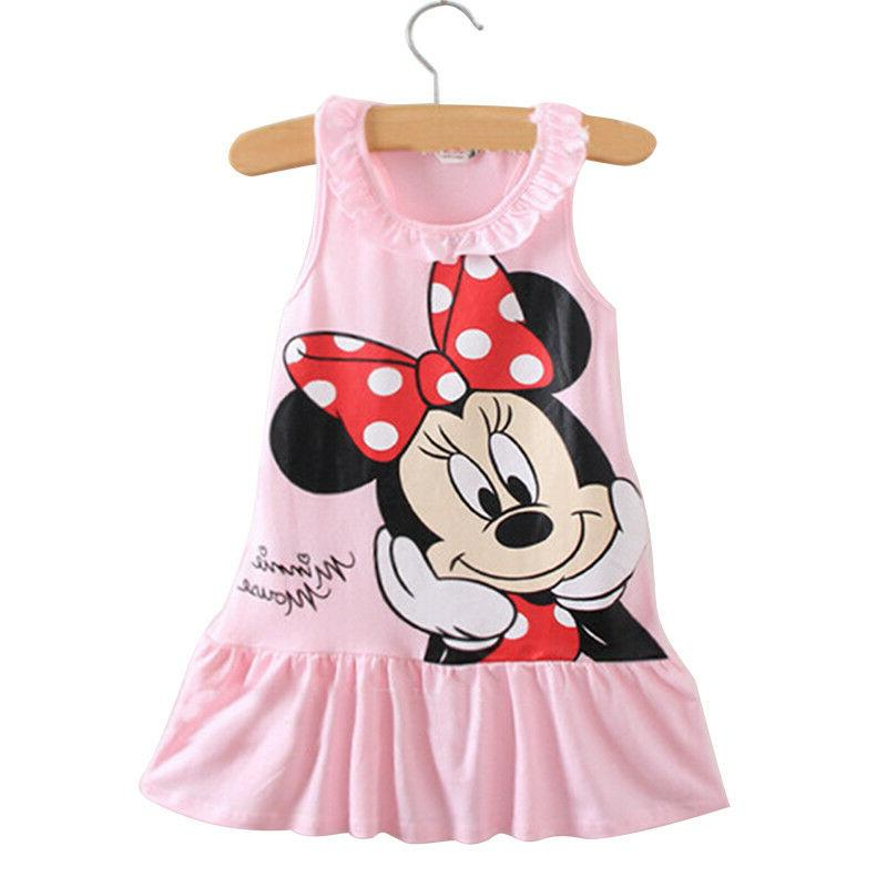 Baby Girls Mickey Mouse Dress Summer