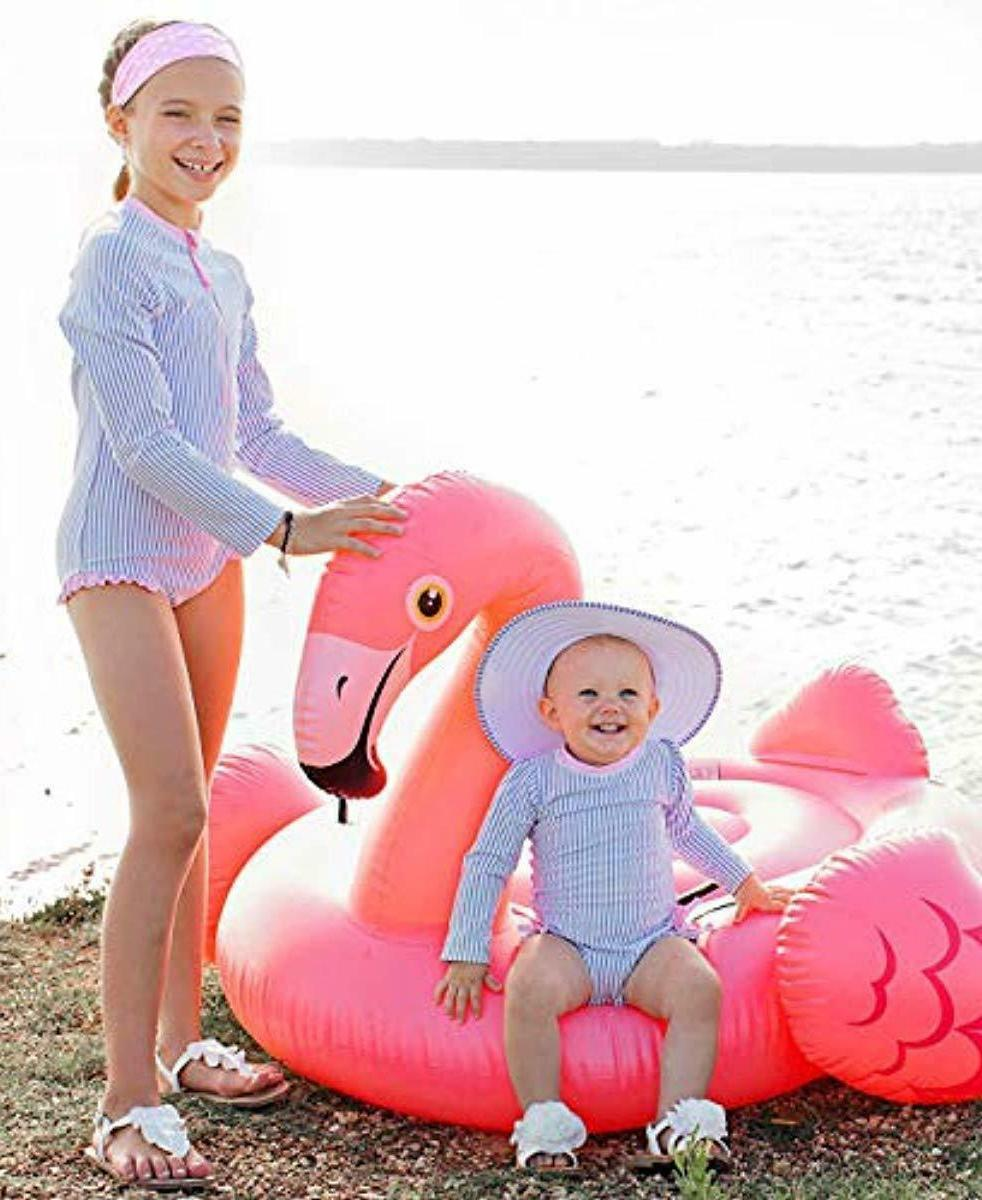 Baby/Toddler Long One Piece Swimsuit with UPF