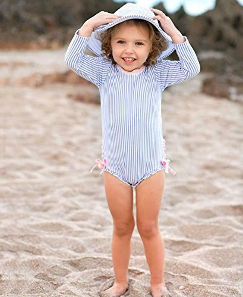 Baby/Toddler Girls One Piece UPF 50+ Sun Protection