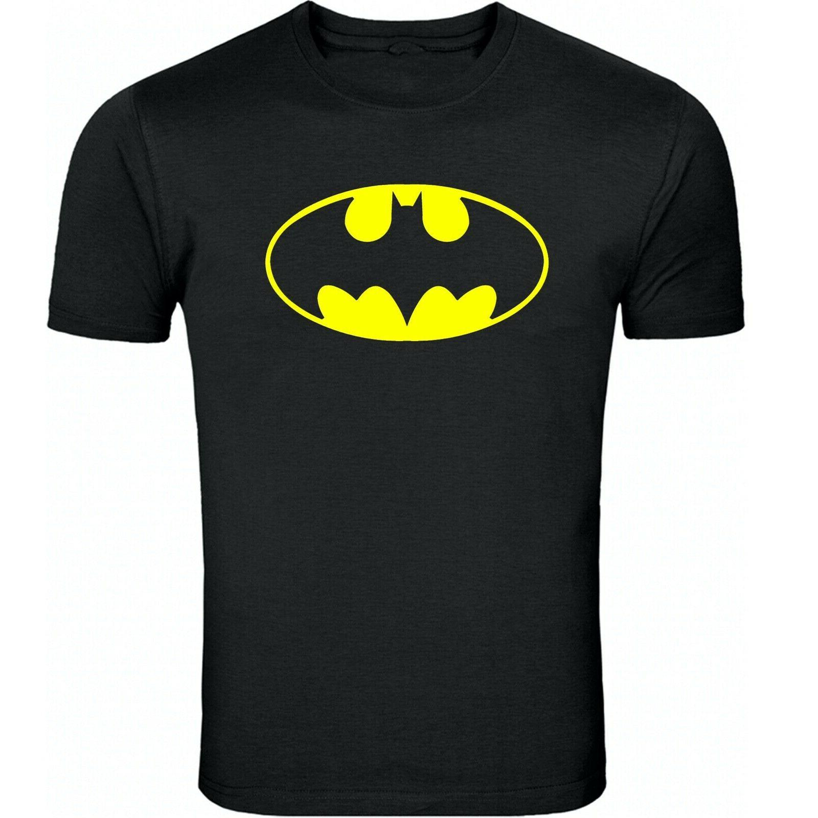 batman classic logo t shirt cotton blend