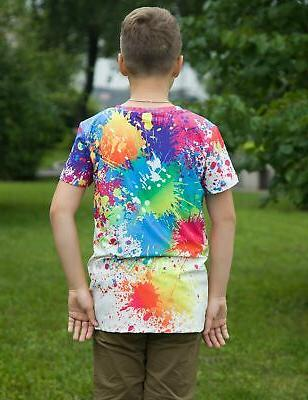 BFUSTYLE Boys Girls Print Cool Teen Kid Tees