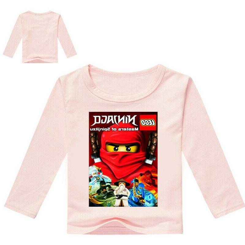 Boys Cartoon T-shirt Spring