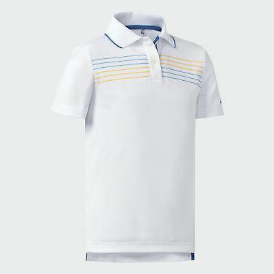 chest stripe polo shirt kids