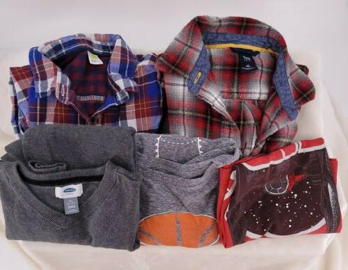 childrens boys tops size 10 12 lot