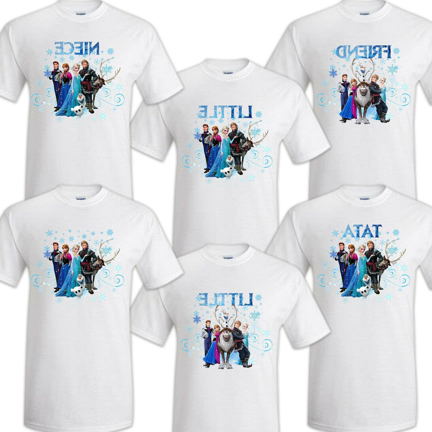 Frozen Family Party T-shirts Reunion