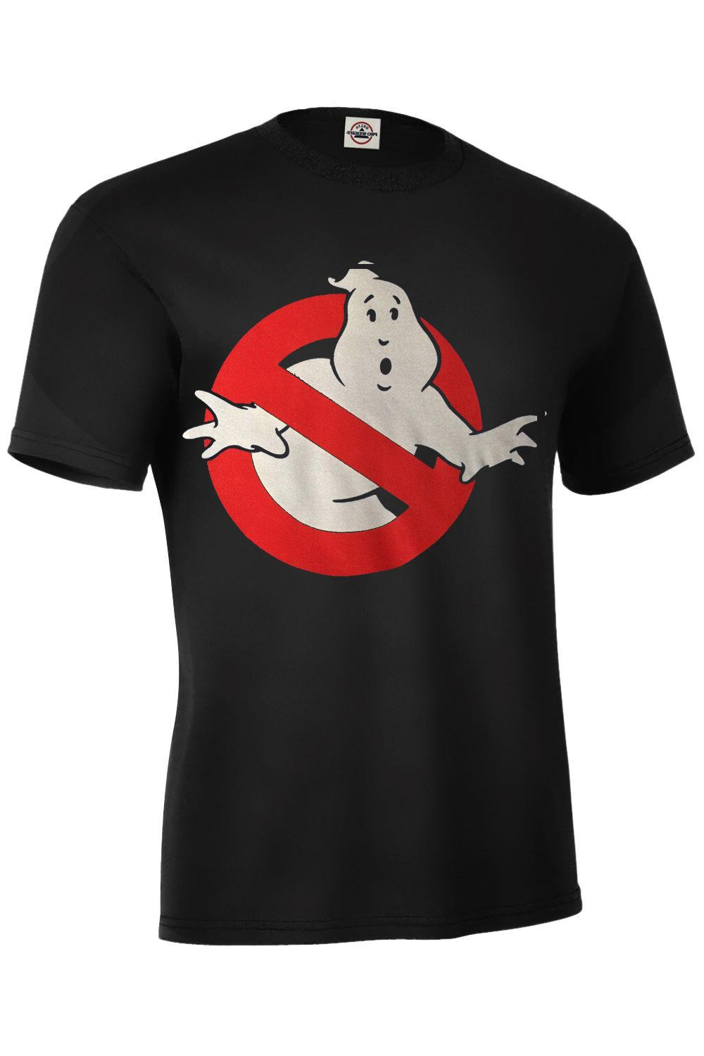 ghostbusters logo assorted colors t shirt sizes