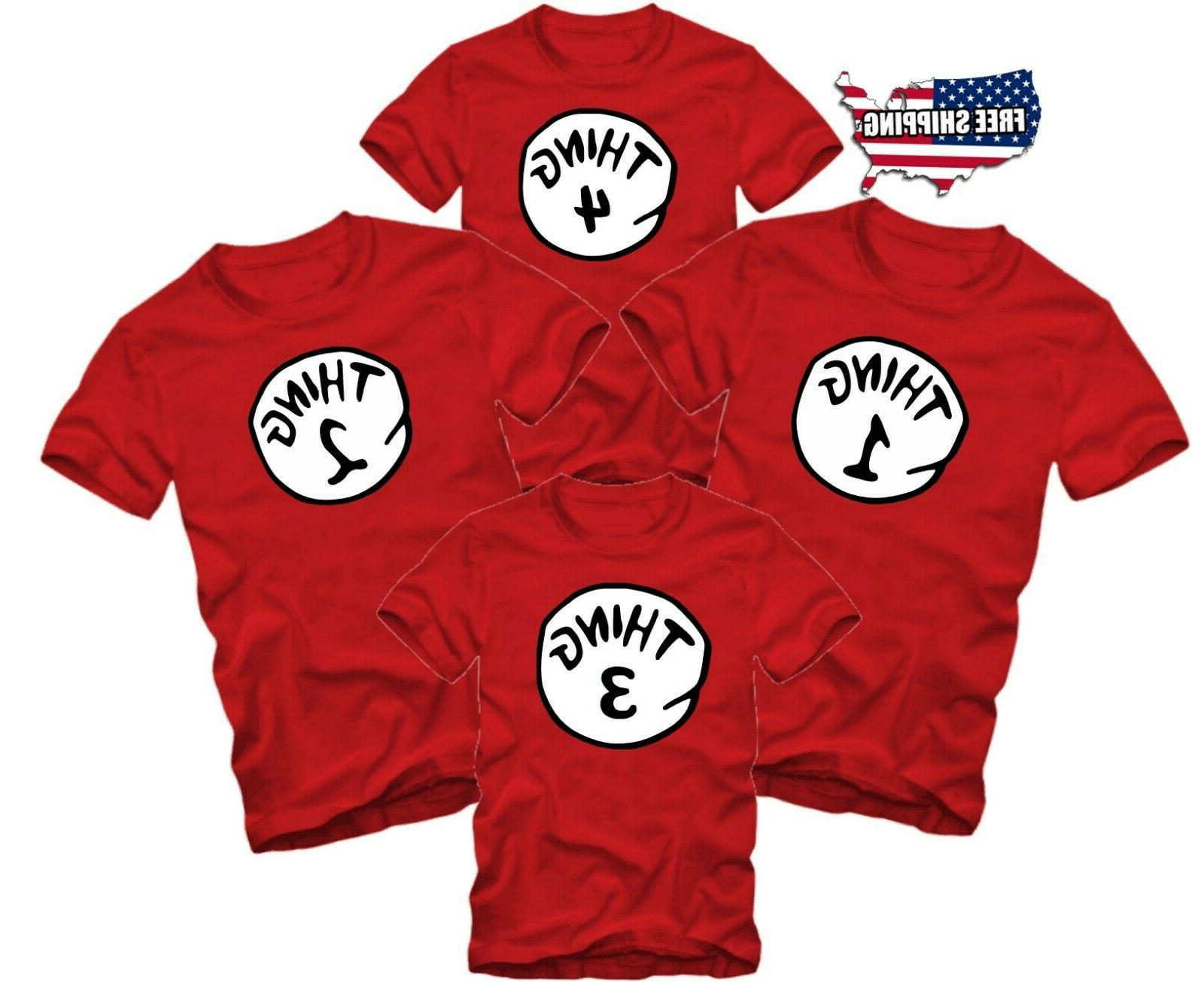 halloween funny matching t shirts thing 1