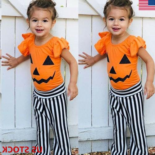 halloween toddler kids girls outfits clothes t