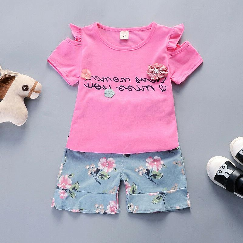 Kids Baby Outfits Sets T + Clothing