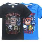 Kids Boys Five Nights at Freddy's FNAF Clothing Short Sleeve