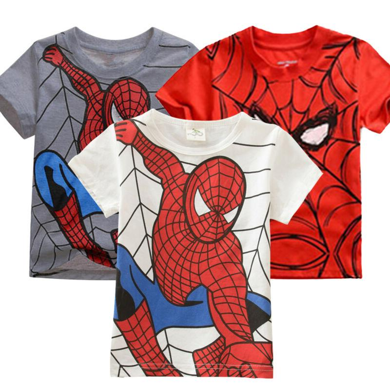 Kids T-Shirt Casual Short Sleeve Loose Tee