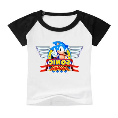 Kids Sonic Hedgehog Round for Boys Clothes