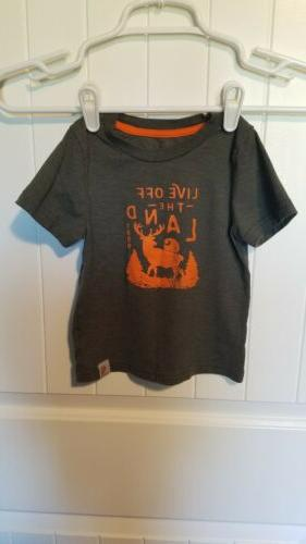 "Carhartt Kids Short T-Shirt ""LIVE"