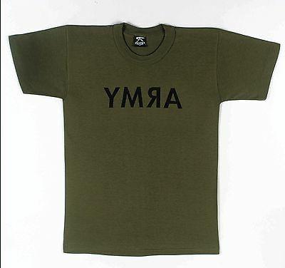 Kids T-Shirt - Army, Olive Drab by Rothco SIZES XS TO XL BOY