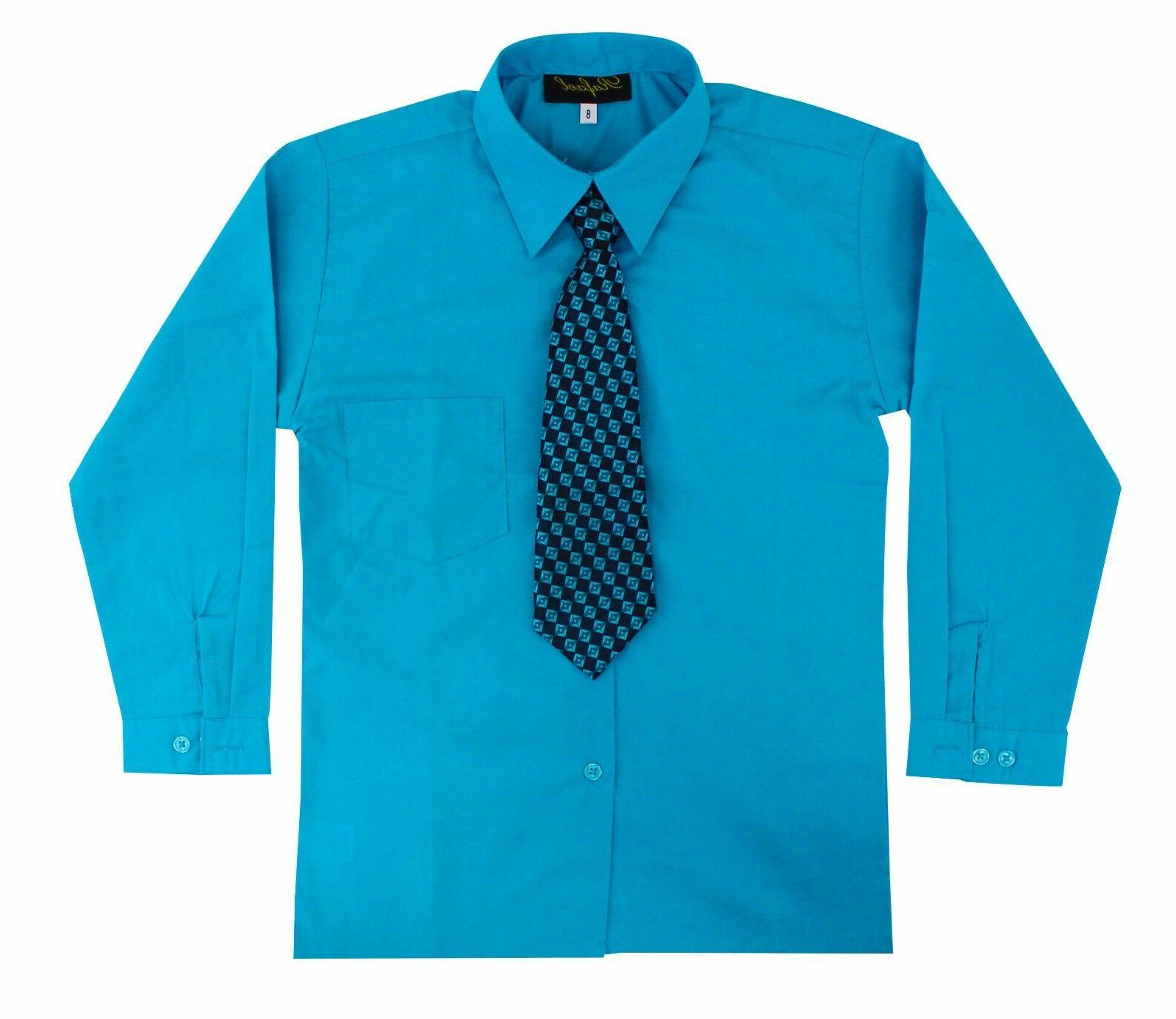 Kids Sleeve Shirt with Tie Size 2T to