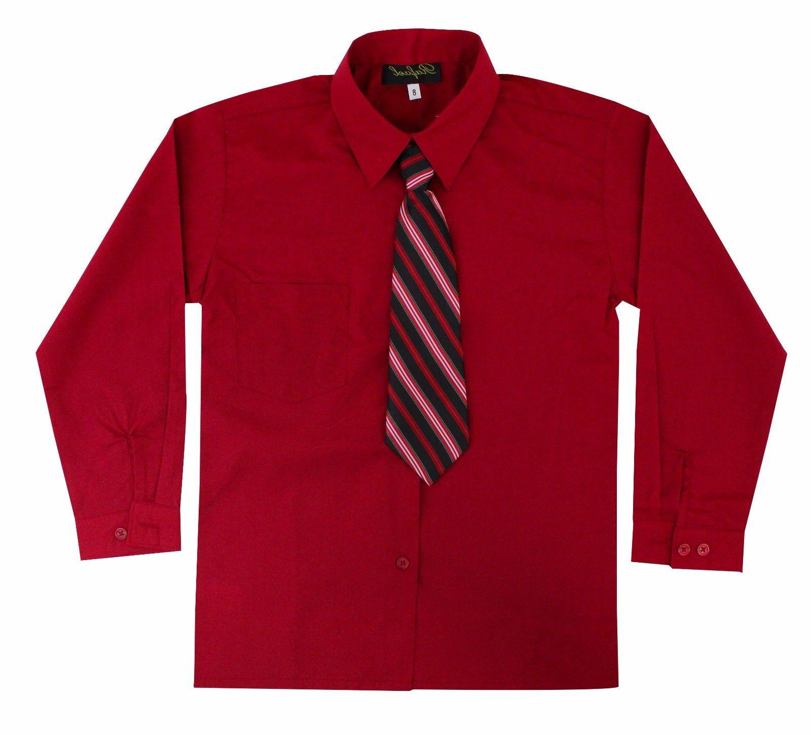 Kids Boys Sleeve Dress Tie Set to 14