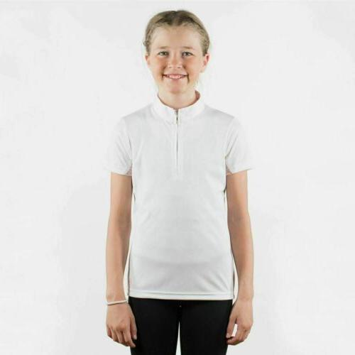 Horze Kids Training and Show Shirt with Breathable Summer